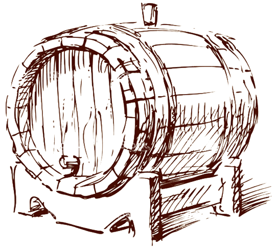 Barrel of Fine Wine